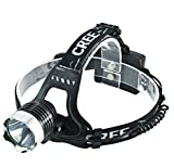 #10: Flipco Best Super Bright Headlamp Light | Rechargeable Head Torch | Hands Free Head Flashlight LED Lmap Water Resistant Drop Resistant Head Lamp Spotlight for Camping Fishing Running Cycling