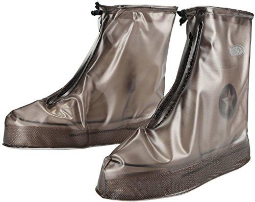 Gaatpot Wasserdicht Regenschuhe Überziehschuhe Regen Schutzschuhe Fahrrad Überschuhe Schuhhülle für Unisex - Erwachsene S