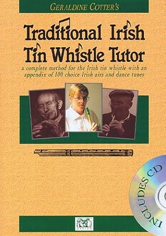 Geraldine Cotter's Traditional Irish Tin Whistle Tutor (Book & CD)