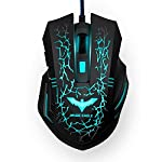Features Ambient Lighting Unique 'breathing' LED light provides a soothing and calming ambient light. Seven different colors provide a constantly changing and unique look. Gaming Quality Wired mouse with 4 DPI settings for your gaming needs. Choose b...