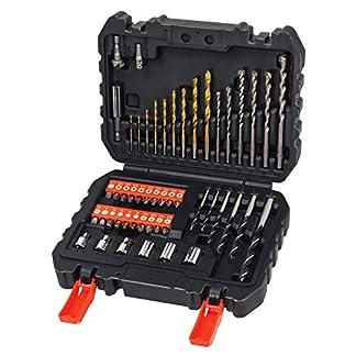 BLACK+DECKER A7188 – Set de 50 piezas con brocas y puntas para atornillar y taladrar