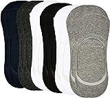 #7: Jedinz Men & Women Low Cut Socks (Pack of 6 )
