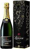 Lanson Black Label Non Vintage Brut Champagne with Gift Box, 75 cl