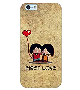 PrintDhaba LOVE COUPLE D-6540 Back Case Cover for APPLE IPHONE 6 PLUS (Multi-Coloured)