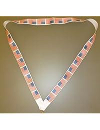 44cm lanière avec USA Flag - Drapeau américain - Souvenirs américains ( MI3 ) [Jouet ]