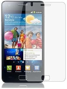 3 x Membrane Films de protection d'écran pour Samsung Galaxy S2 SII (GT-i9100) - Ultra clair (Invisible), Résistant aux éraflures, Emballage d'origine et accessoires