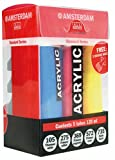 Amsterdam Acrylfarben Standard-Set 5x120ml mit 3 Dosierdüsen