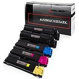 5 Toner kompatibel für TK580 TK-580 für Kyocera Ecosys P6021cdn, FS-C5150dn - Schwarz je 4.000 Seiten, Color je 3.000 Seiten