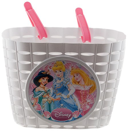 Widek Disney Princess - Basket for bicycle, design Disney Princesses white (assortment design), 1 unit