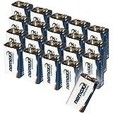 Nemaxx Lithium Batterie 9V Pour Détecteur de fumée Durée de vie 10ans
