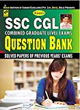 Kiran's SSC CGL Combined Graduate Level Exams Question Bank 1999-2016 (47 Solved Papers of Previous Year Exams) - 1827