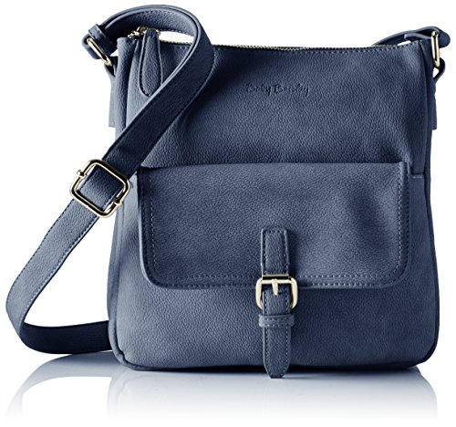 Betty Barclay Damen Bb-1105-Ne Schultertasche, 5x26x24 cm Blau (Blueberry)