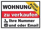 HB_Druck Wohnung PRIVAT Schild