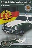 DDR-Pkw-Modell Wartburg 311 Limousine - Volkspolizei-Serie Nr. 4
