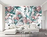Yosot Benutzerdefinierte Tapeten Tropische Pflanzen Banana Leaf Basho Flower Ölgemälde Tv Wall Hintergrund Walls Mural 3D Tapete-350cmx245cm