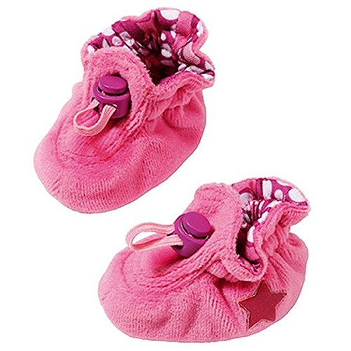 Zapf Creation Baby Born 822098, Zapatos accesorios para muñeca, 130 mm x 51 mm, color Rosa y Violeta, 2 unidades