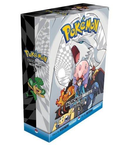 Pokemon Black & White Box Set: Volumes 15-20 3 by Hidenori Kusaka (2015-10-08)