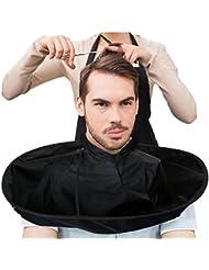 Gaddrt DIY-Haar-Ausschnitts-Umhang-Regenschirm Umhang-Salon-Friseur-Salon und die Hausstilisten, die verwenden (A)