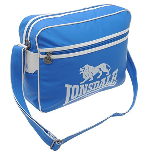 Lonsdale Cabin Flight Bag Lightweight Suitcase Accessories Blue/White One Size