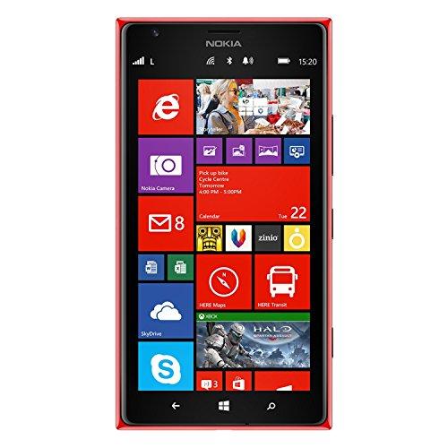 Nokia Lumia 1520 GSM Smartphone (entsperrt, zertifiziert, generalüberholt), rot