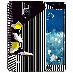 Theskinmantra Yellow Shocks Samsung Galaxy Note Edge mobile skin