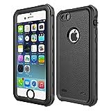 GZ - Coque étanche Anti-Chocs et Anti-Rayures Compatible id - iPhone 5 / 5s / Se - Noir