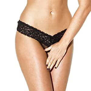Kiss Me Bum SET DE 2 CHEEKY TANGAS DENTELLE