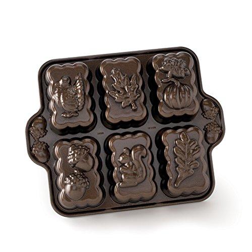 Nordic Ware Harvest Mini-Kastenform, bronzefarben - Nordic Ware Star Bundt Pan