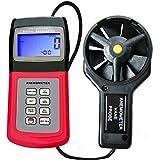 Anemómetro con Termómetro - Medidor de aire/viento PRO (AM-4836V)