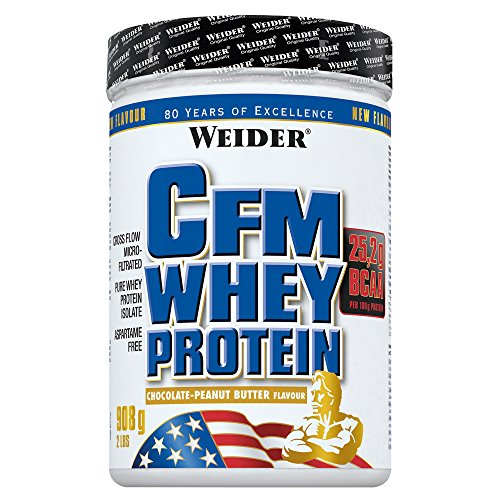 Whey-chocolate Peanut Butter (Weider CFM Whey Protein Chocolate Peanut Butter)