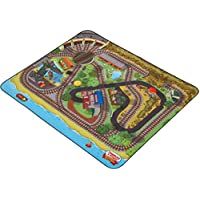 Fisher-Price Thomas the Train Wooden Railway Island of Sodor Felt Playmat
