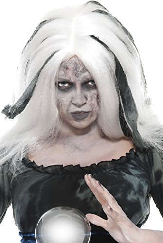 Smiffy's 29204 Wahrsager-Perücke, (Halloween Wahrsagerin Kostüm Ideen)
