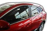 J&J AUTOMOTIVE | Deflecteurs d'air déflecteurs de Vent Compatible avec Renault Kadjar 2015- prés 4 pièces