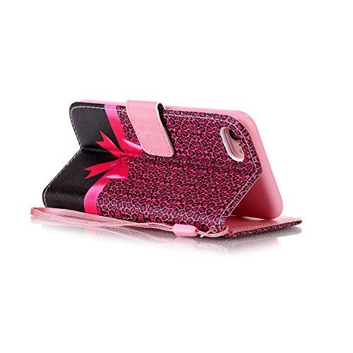 Apple iphone 7plus case XFAY HX-439 Portafoglio accessories elegante Bookstyle PU Pelle Case Cover Protettiva Flip Portafoglio Custodia Protezione Caso con Supporto di Stand / Carte Slot / Chiusura/ l colore-5