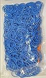 1200 Loom Bands Blau Nachfüllpack Starterset Bänder Gummibänder Looms Bandz Webrahmen Armband DIY XXXL 200/300/400/600/1200/1800