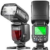 Neewer® NW660III 2.4G i-TTL HSS 1/8000s LCD Display Wireless Master/Slave Flash Speedlight for Nikon D3300 D3200 D3100 D3000 D5200 D5100 D5000 D7200 D7100 D7000 and All Other Nikon DSLR Cameras