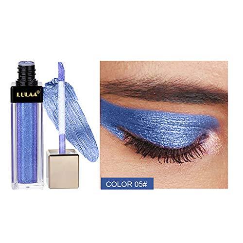 Les Cadeaux de Valentine pour Les Femmes !!! Beisoug Metallic Diamond Eyeshadow Liquide Brillant Imperméable Brillant Scintillant Maquillage Cosmétique Star Eye