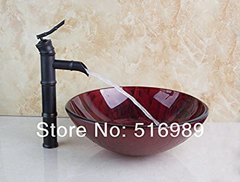 Maifeini Öl Schleifen Von Bronze Bau & Immobilien Bad Waschbecken Serie Abtropffläche Mit Glas Waschbecken Einstellungen