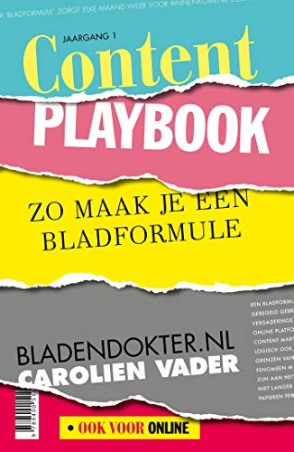 Content Playbook (Dutch Edition)