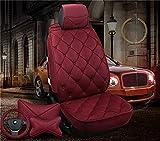 Protezione per seggiolino auto 3D Car Cushion-Four Seasons Copri cuscino universale per surround completo, adatto per tutto l'anno con il cuscino e la vita Cuscino del seggiolino auto ( Colore : Red )
