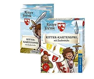 Oetinger Verlag Ritter trenk-Juego de Cartas con Trucos mágica