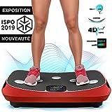 Sportstech VP400 Plateforme Vibrante Oscillante professionnelle Fitness...