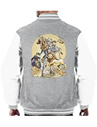 Doctor Who Wizard Planet Of Oz Men's Varsity Jacket