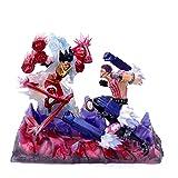 DMGK-A Statue Puppe riesige Version Snake Menschen Ruffy VS Karte Zwei Kataku Kastanie gk Zwei Yuan Anime Hand Modell PVC-Sammlung Geschenk