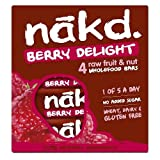 Nakd Berry Delight, 4 x 35 g