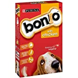Bonio Dog Biscuits Chicken, 650 g - Pack of 5