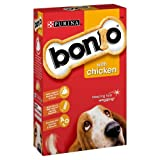 Bonio Chicken Dog Biscuits - 650 g, Pack of 5