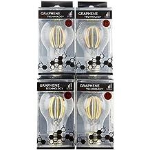 Lot de 4–8 W Dimmable Graphene LED Ampoules à filament ... cd4c76e71b8f