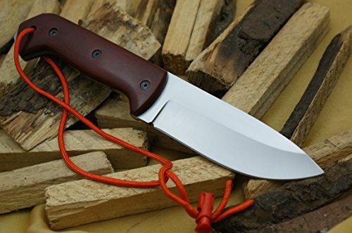 Custom D2 Stahl Bowie Messer Jagdmesser Mit Lederscheide (Custom Messer)