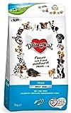 Disugual Adult Small Pesce 2 kg - Alimento completo monoproteico, crocchette per cani di taglia piccola